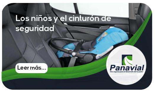 Los niños y el cinturón de seguridad