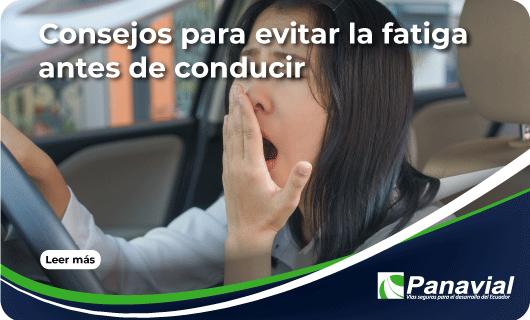 ¿Cómo evitar el sueño y la fatiga antes de conducir?