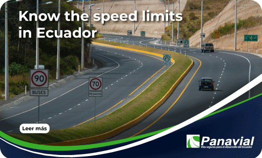 Know the speed limits in Ecuador