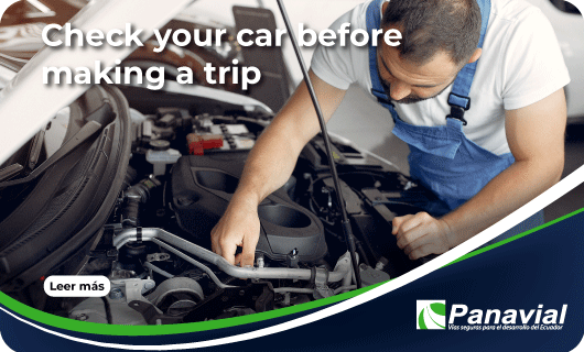 Check your car before making a trip